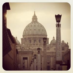 Der Petersdom im Vatikan (c) V. Till