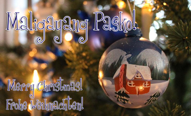 Frohe Weihnachten Philippinisch.Frohe Weihnachten Philippinisch Italiaansinschoonhoven