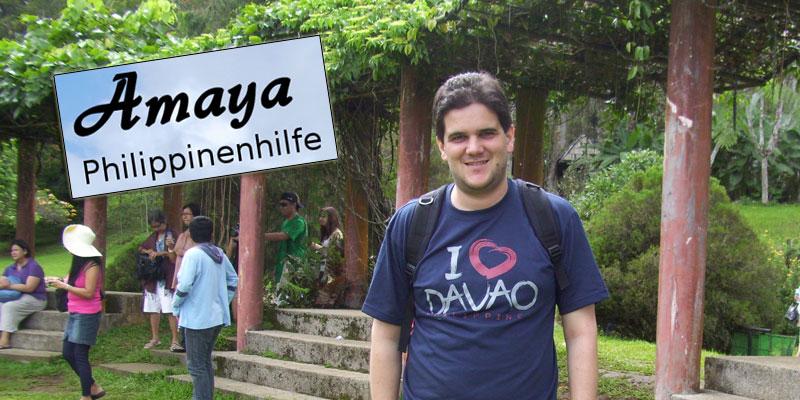 """Markus Winkler ist ehrenamtliches Mitglied im Verein """"Amaya - Philippinenhilfe"""" © Markus Winkler"""