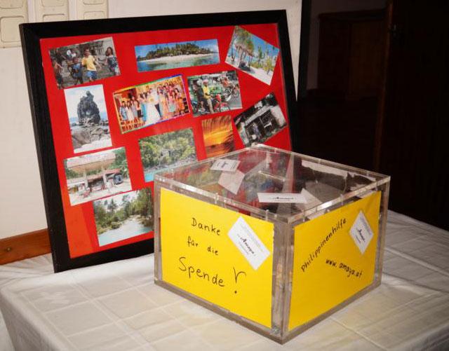 """""""Amaya"""" sammelt Spenden, um hilfsbedürftigen Filipinos zu helfen © """"Amaya - Philippinenhilfe"""""""