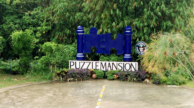 Puzzle Mansion in Tagaytay/Philippinen © V. Till