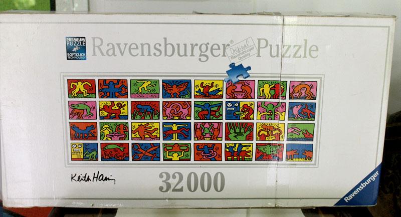 Das weltweit größte Puzzle mit 32.256 Teilen kommt aus Deutschland © V. Till