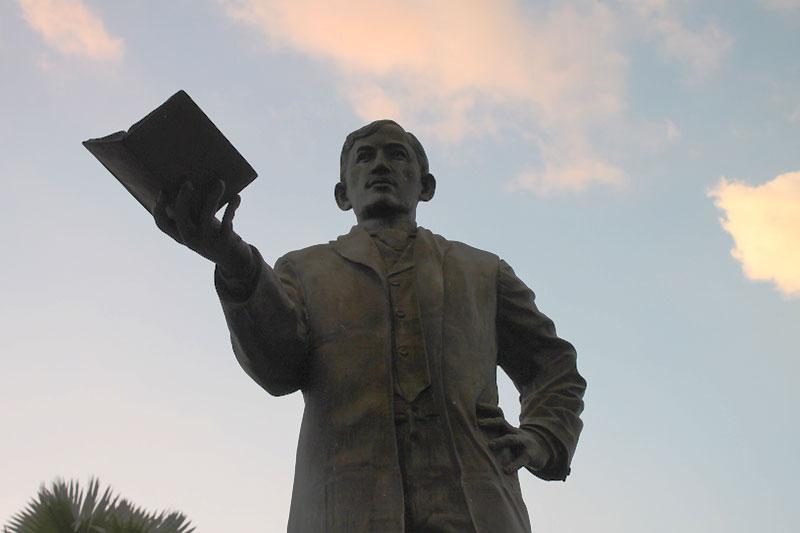In Gedenken an den philippinischen Nationalhelden José Rizal © Valerie Till