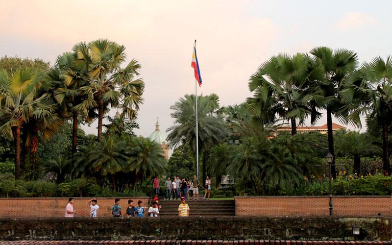 Innerhalb des Fort Santiagos in Intramuros © Valerie Till