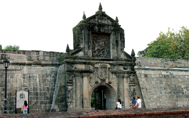 Das Haupttor von Fort Santiago in Intramuros © Valerie Till