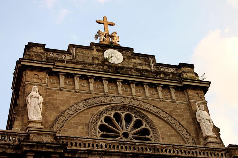 Die Kathedrale von Manila © Valerie Till