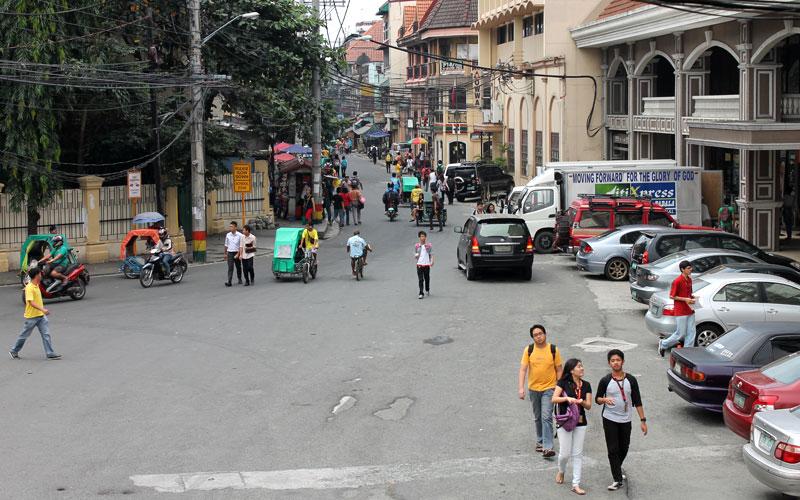Straßen von Intramuros © Valerie Till