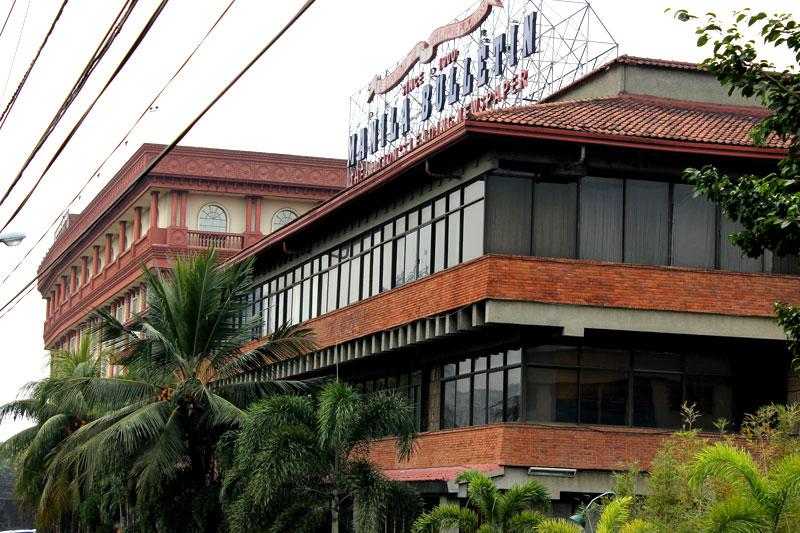 """In Intramuros sitzt die zweitälteste philippinische Tageszeitung """"Manila Bulletin"""" © Valerie Till"""