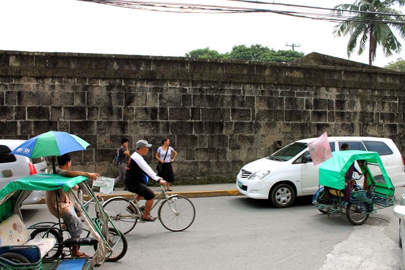 Verkehr in Intramuros © Valerie Till