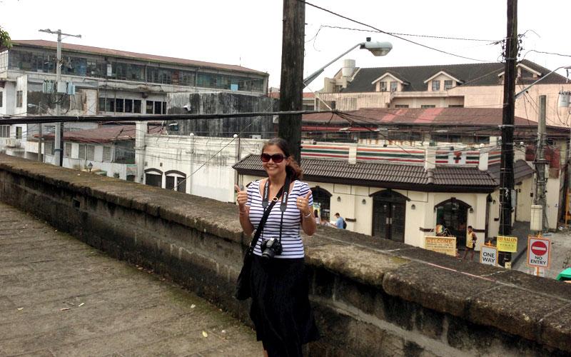 Immer einen Ausflug wert: Der Stadtteil Intramuros von Manila © Valerie Till