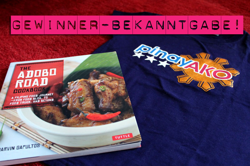 """Geburtstags-Gewinnspiel-Auslosung: Wer hat das philippinische Kochbuch und wer das """"Pinay ako""""-Shirt gewonnen? © V. Till"""