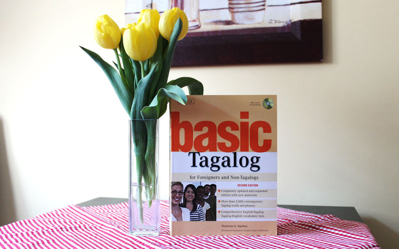 "Tagalog lernen mit dem Buch ""Basic Tagalog for Foreigners and Non-Tagalogs"" © V. Till"