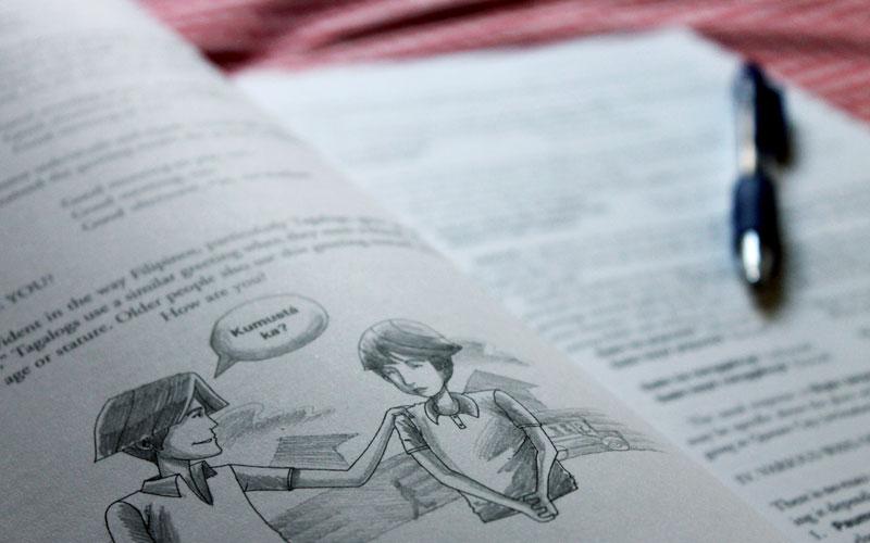 """<i>""""Kumusta ka?""""</i> Wie kann ich mir Tagalog selbst beibringen? © V. Till"""