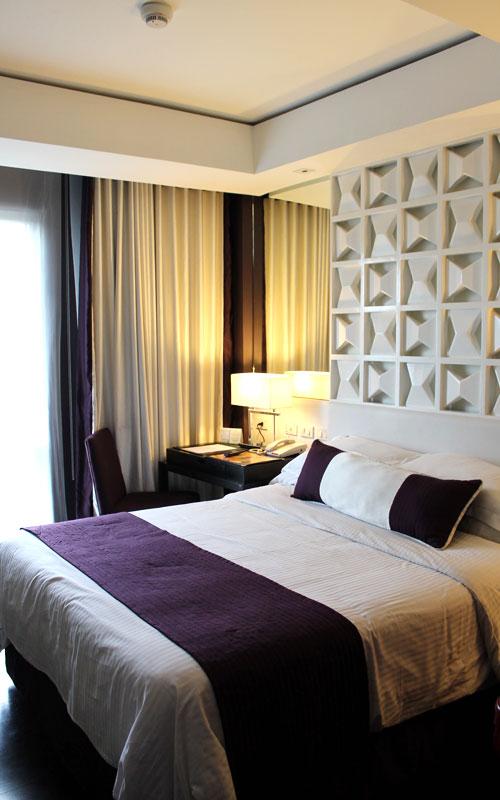 """Ein """"Superior Room"""" im Hotel """"The Bayleaf"""" © Valerie Till"""