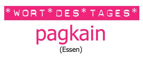 """Tagalog lernen mit """"Mabuhay Tisay"""": das Wort des Tages ist heute """"pagkain"""" (das Essen) © Valerie Till"""