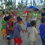 Als Dankeschön führten die Kinder des Dorfes Danao für das Hilfsteam Tänze auf © Marilou Misagal-Bosshammer