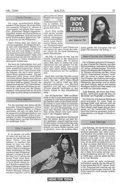 """Eine Seite in einem Magazin namens """"News for Teens""""."""