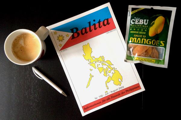 Die deutschsprachige Zeitschrift Balita über die Philippinen. © Valerie Till