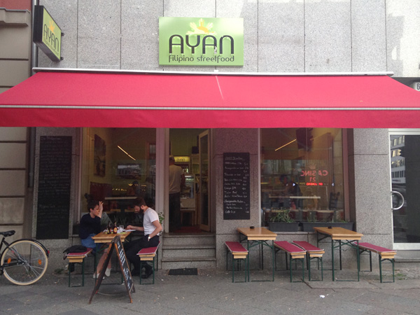 "Das philippinische Restaurant ""Ayan - Filipino Streetfood"" in Berlin."
