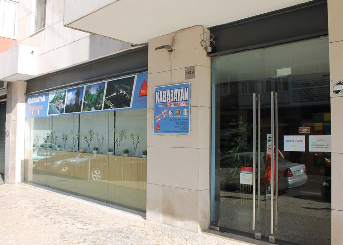 """Das philippinische Restaurant """"Kababayan"""" in Lissabon."""