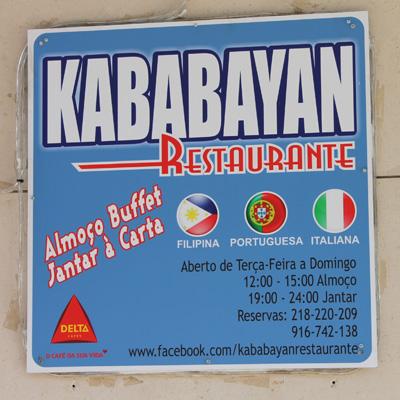 """Genauere Infos zum philippinischen Restaurant """"Kababayan""""."""