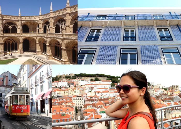 Verschiedene Bilder aus Lissabon.
