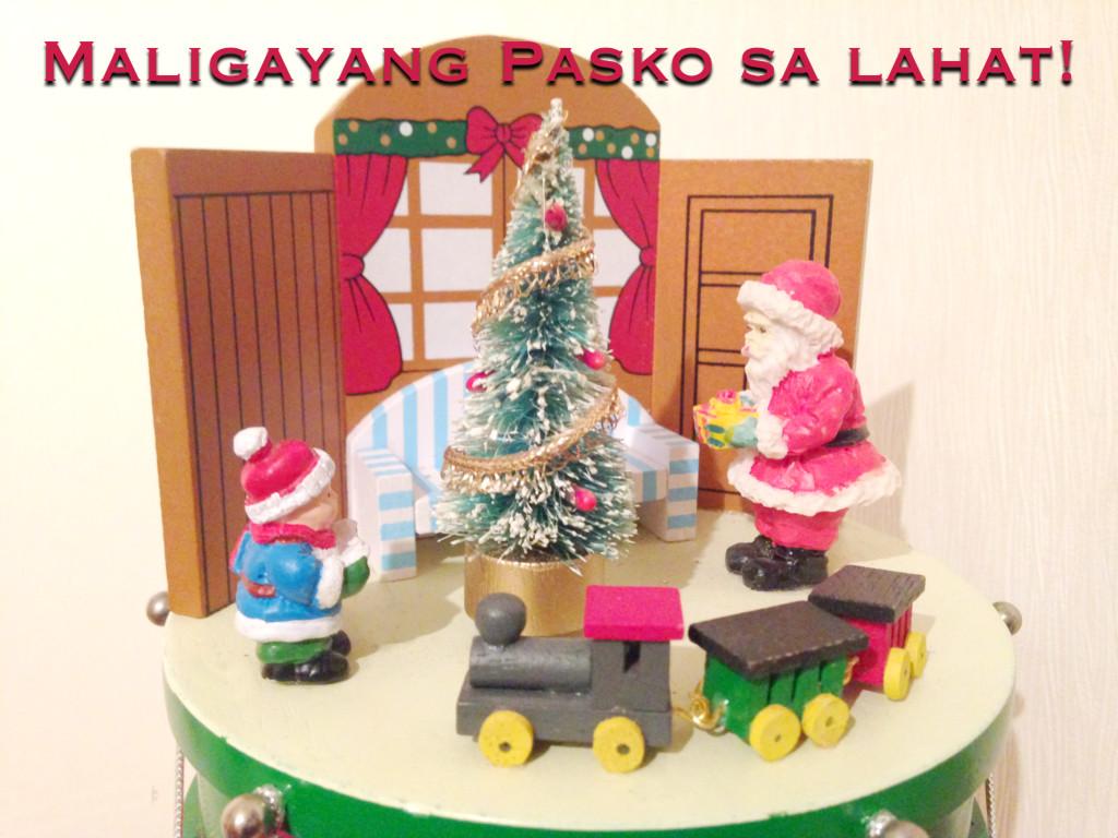 Philippinischer Weihnachtsgruß