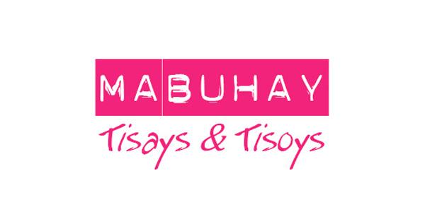 """Schriftzug """"Mabuhay Tisays & Tisoys"""""""